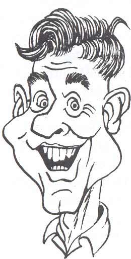 Dick Dugan caricature