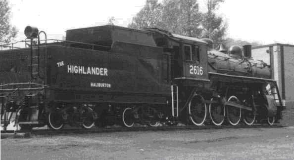 Highlander Train - Photo by Wilfred Kitson taken in Haliburton, Ontario