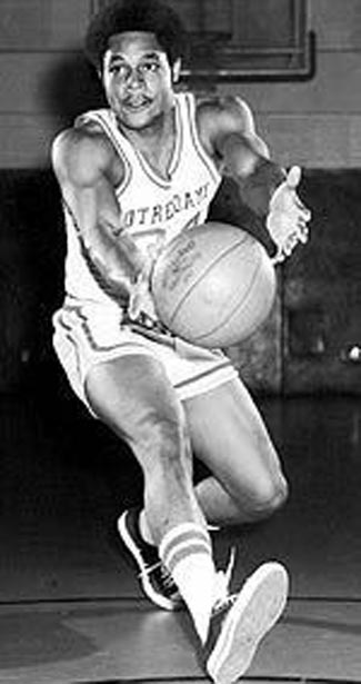 Austin Carr playing for the Fighting Irish of Notre Dame