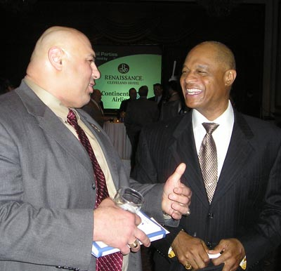 Wrestler Matt Ghafafari and Austin Carr at Sports Banquet in 2007