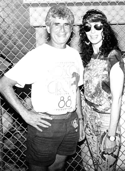 Jules Belkin with Cher