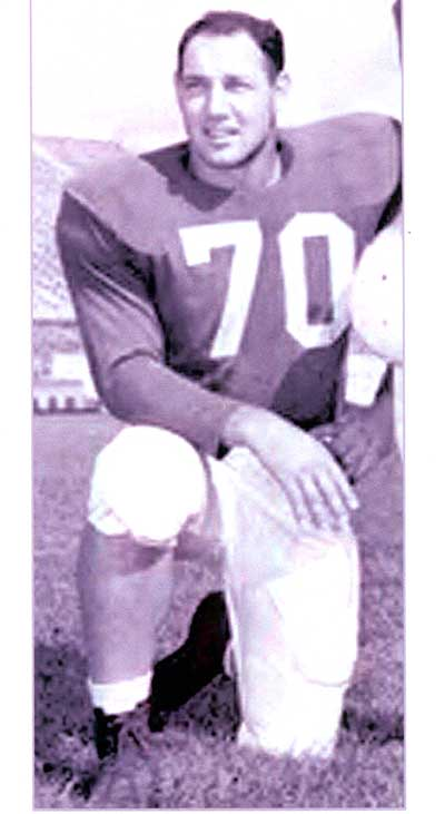 Cleveland Browns and University of Kentucky Football Legend Bob Gain