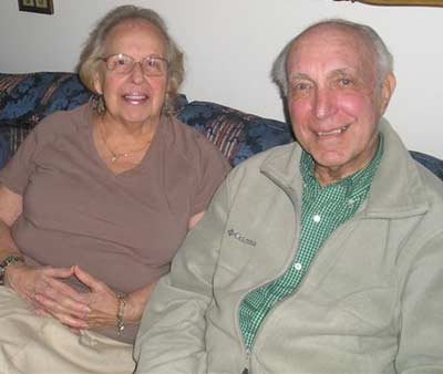 George and Nina Weidinger in 2008