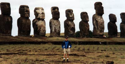 George Weidinger on Easter Island