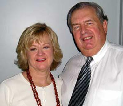Sue Harmon and Lute Harmon of Great Lakes Publishing