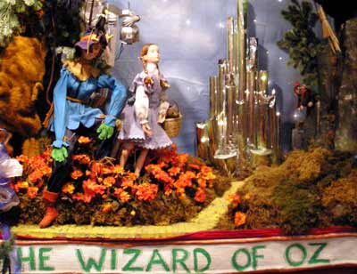 Wizard of Oz window at Hixsons