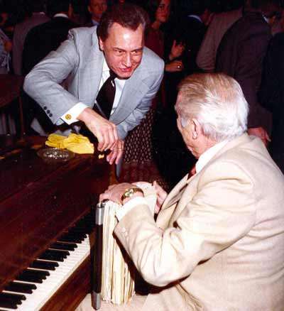 Stan Kenton and Howard Hoffmann
