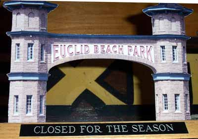 Euclid Beach Entrance