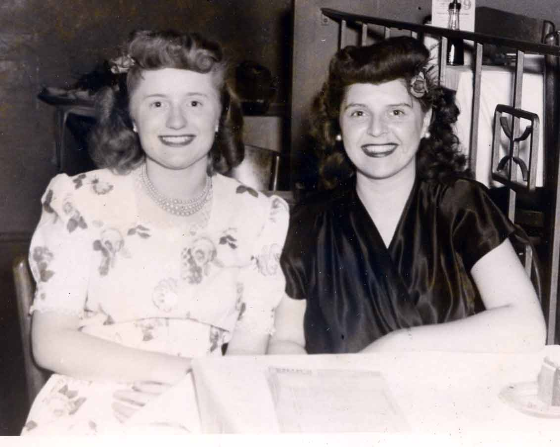 Mary Terese and her cousin