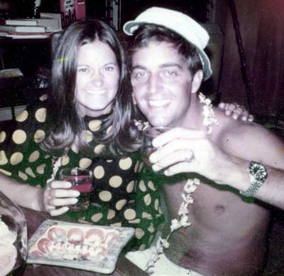 Cindy and Jamie in 1970