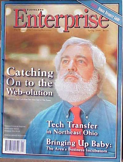 Cover Boy Jim Cookinham in 2000