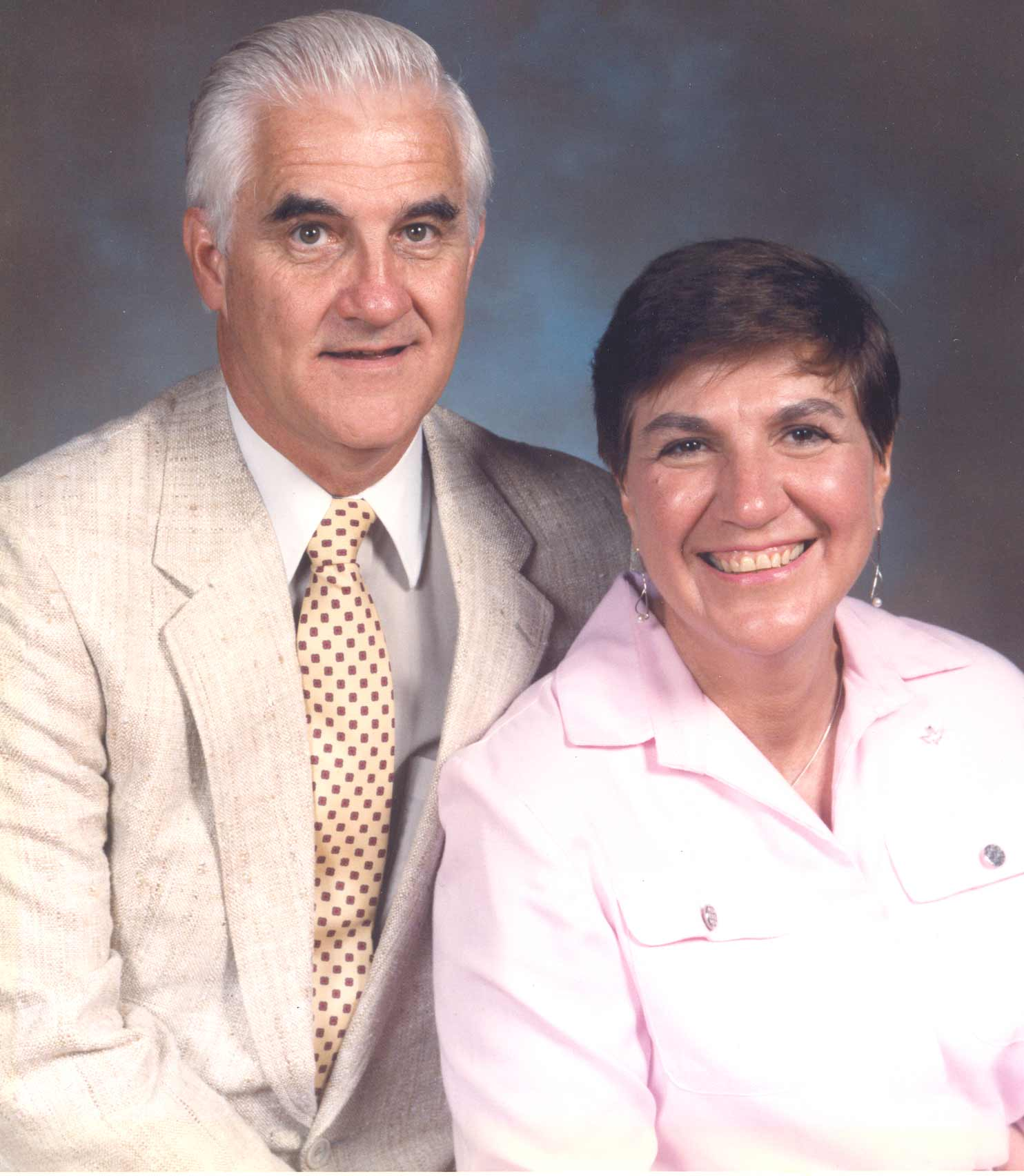 Joe Sweeney with wife Millie