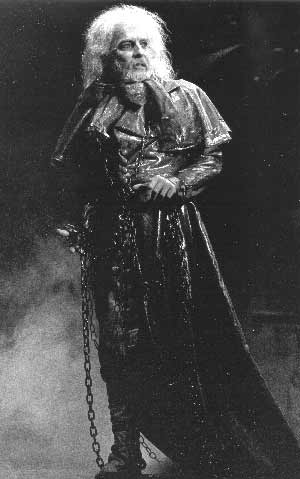 John Buck as Jacob Marley