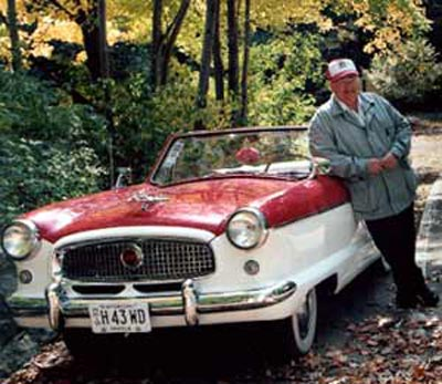Neil Zurcher with Nash Metropolitan