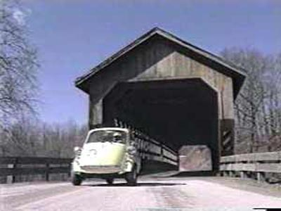 Neil Zurcher and covered bridge