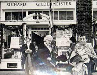 Richard Gildenmeister and author May Sarton