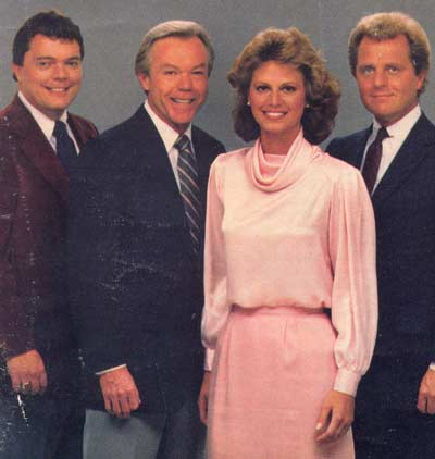 Casey Coleman, Dick Goddard, Denise D'Ascenzo and Tim Taylor